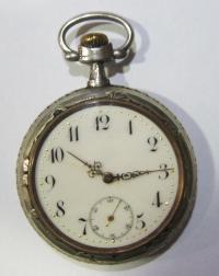 Ασημένιο ρολόι τσέπης DEPOSE 3eab3bbac7b