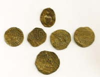 Set (6) of Church Tokens 1888