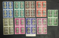 specimen 1963  Complet set Of Block Of 4 **