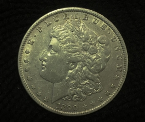 USA Dollar 1890 o XF/AU