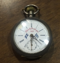 Silver Old Pocket Watch