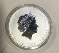 AUSTRALIA 2014 OUNCE  Proof