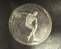 SILVER Large Medal Mexico 1968 Olympia