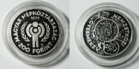 HUNGARY 200 Forint 1979 Proof