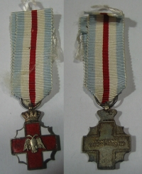 Red Cross Miniature Medal 1956