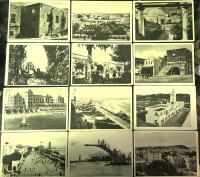 RHODES collection of 12 Postal cards