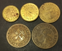 Complete set of tokens