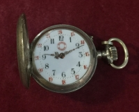 Pocket Watch Roskopf Silver