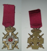 Miniature Order of King George RARE TYPE