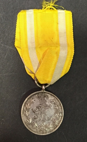 GERMANY (SAXONY) Military Medal 1914