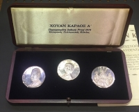 3 Silver Medal in Case