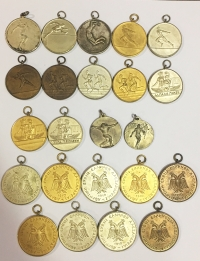 Collection of 23 Athletics Medals Official