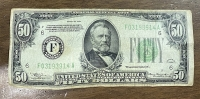 USA 50 Dollar 1934 F/VF