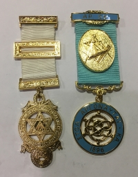 2  Masonic Medal Greek