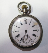 Silver pocket watch AEMONTOIA