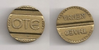 OTE token without date and letter XF
