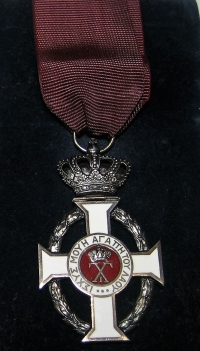 Gold Cross Order Of King George