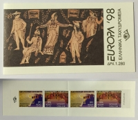 Europa 1998 Booklet