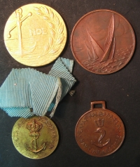 Collection of 4 Medals of Navy Games