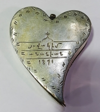 Silver opening amulet 1871