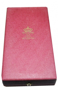 Box (only) of Grand Commander Order of King George
