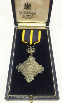 Navy Medal B' Class boxed