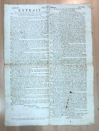Old Document 1798 Ionian