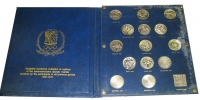 Official Medal Folio of Summer Olympic Games 1908-1976