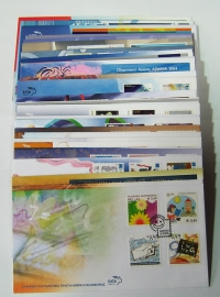 Collection of 38 FDC