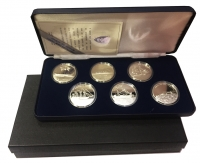 Official Navy silver coin set from Bank of Greece