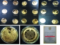 GR. BRITAIN Collection of the 24 silver Churchill Centenary Medals Proof