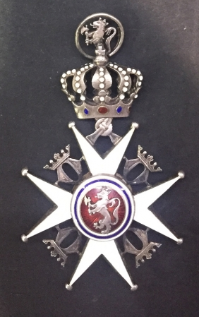 ΝΟΡΒΗΓΙΑ Order of St. Olav Knight RARE