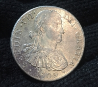 MEXICO 8 Real 1809 XF++