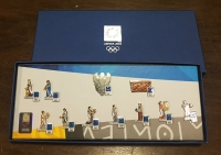 collection [set 11] pins of olympic games 2004
