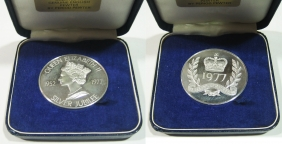 Silver Com. Medal Of Silver Jubilee 1977
