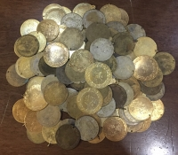 120 restrike coins from traditional suits