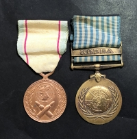 2 Medals of Korea