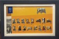 Frame of Olympic Pins 2004