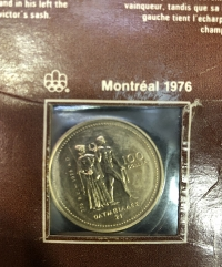 CANADA Olympic Games Commemorative Coin 1976 UNC