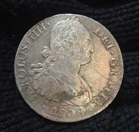 MEXICO 8 Real 1806 VF