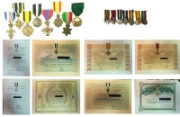 Set of 8 Medals , Miniatures and Awards NAVY