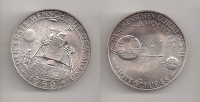 GERMANY Silver medal for Apollo 11