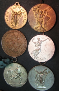 Collection of 6 Medals of Millitary Games