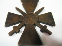 War Cross WWII rare type with cycle in 1940