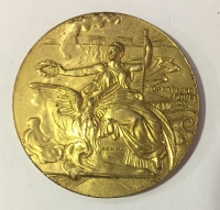 Olympic Medal 1906 Gold XF++