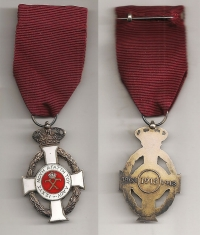 Rare type Silver Knight Order of King George