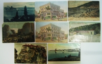 Lot of 8 Greece PC