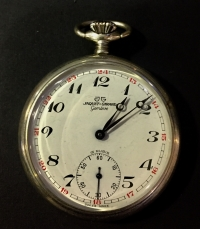 jaquet girard pocket watch RARE