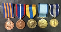 Lot of 5 Medals  Greek Military