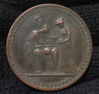Old Brass Medal